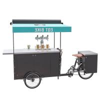Buy cheap 250W Electric Bicycle Vending Cart , Mobile Vending Cart For Beer CE Certificate product