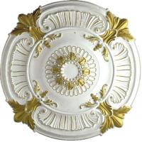 Buy cheap PU medallion ceiling medallion gold sketch effect pu cornice moulding pu ceiling light pu medallion (HM-009) product