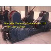 Buy quality 200T Self Alignment Turning Roller Welding Rotator Can Line The Shells With Rubber at wholesale prices