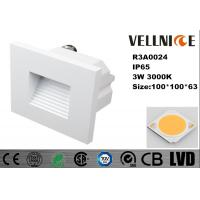Buy cheap Die - Casting Aluminum Outdoor LED Wall Lights 3W IP65 High Efficiency 110mA Ac 230V from wholesalers