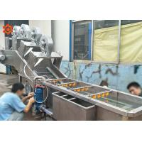 Buy cheap 3 KW Power Vegetable Processor Machine Blueberry Washing Machine 800 Kg/H Capacity product