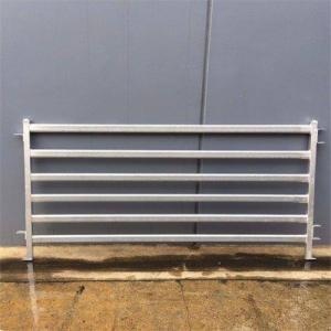 Buy cheap 6 Rails Galvanized Stockyard 1.2m Sheep Corral Panels product