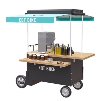 Buy cheap Wood Box Structure 48V 4500w Tricycle Vending Cart product
