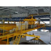 Buy quality Electric Overhead Crane, Electromagnet Crane With Top Slewing (Rotating) Magnetic Chuck For Steel Mill at wholesale prices