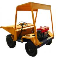 Buy cheap 1500kg 4x2 Drive Mini Construction Wheel Dumper With Hydraulic Tipping Hopper product