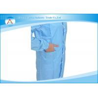 Unisex Professional Lab Coats Antistatic , Laboratory Gown S-XXXL