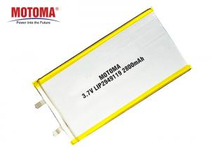 Buy cheap 500 Times Cycle Life Laptop Polymer Battery 2800mAh NMC Material product