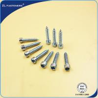 Buy cheap M3~ M12 Socket Cap Head Screw / Self Tapping Wood Screws Zinc Plated from wholesalers
