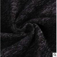 POLYESTER WEFT KNITTING COURSE GAUGE  DYEING FLANNEL FABRIC CLOTHING HOME FABRIC