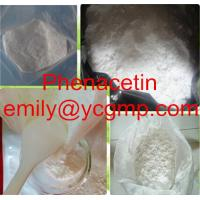 Buy quality Effective Pharmaceutical Intermediates 99% pure analgesic antipyretic drug Phenacetin 62-44-2 at wholesale prices