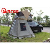 Buy quality 4x4 manufacturer waterproof car roof top tent / 260G ripstop canvas  auto roof tent at wholesale prices