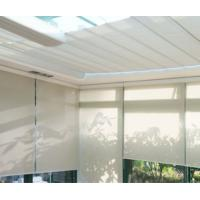 Buy cheap Anti - sunshade UV proof double layer roller blinds with curtain tubular motor product