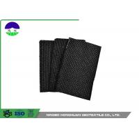 Water Permeability Woven Monofilament Geotextile , Synthetic Fiber PP Woven Geotextile