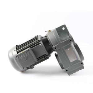 Buy cheap Flange Mounted 90 Degree Parallel Shaft Helical Gear Motor Cast Iron product