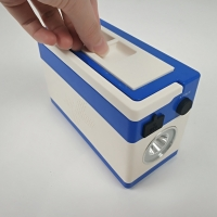 Buy cheap Rectangular DC5V 2W Explosion Proof Hand Lamp With 200H Duration product