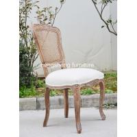 Dining Room Furniture Type and Wooden Material French Cane Back Chair