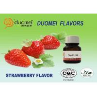 Buy cheap Natural Sweet Fresh Strawberry Flavour Powder 0.01% - 0.03% Dosage product