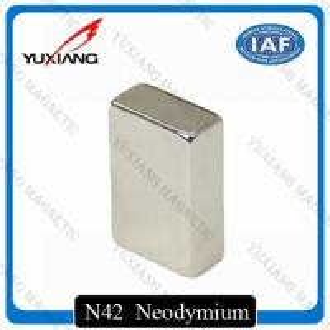 Buy cheap Coating Nickel N45 Neodymium Magnets Rectangular 20x10x40mm Rare Earth Magnet from wholesalers