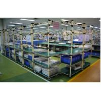 Buy quality Warehouse Storage Flexible Heavy Duty Pallet Rack With Plastic Coated Steel Pipe at wholesale prices