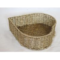 Buy cheap wholesale 100% handwoven   home storage basket with golden foil material, decorative item product