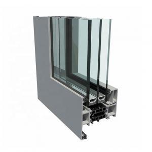 Buy cheap OEM Aluminum Window Profiles Mullion Equal / Unequal Bead Aluminium Extrusion Profiles product