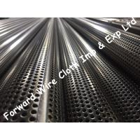 SS304 Stainless Steel Perforated Tube Customized Round Hole Diameter 76.2mm Manufactures