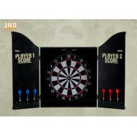 Buy cheap Decorative Wall Dart Board Pub Sign Antique Wooden Dart Cabinet Set MDF Dart Box product