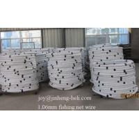 Buy cheap Galvanized steel wire for fishing /net /cage/trap 18gauge 19 gauge 1.18mm 1.06mm factory product