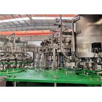 Buy cheap CE Carbonated Drink Filling Machine / Aerated Drink Sparkling Water Bottling Machine product