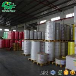 Buy cheap 65gsm 65gsm Thermal Paper Jumbo Rolls , Kraft Paper Jumbo Roll High Tightness Oem Printed product