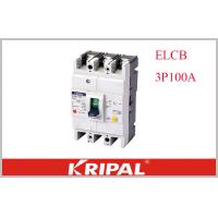 Buy cheap KRIPAL UKM30L-100S 3P CE Leakage / Residual Current Molded Case Circuit Breaker from wholesalers