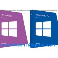 Buy cheap English Multi Language Microsoft Windows 8.1 Retail Box OEM Full Package With Disc USB product