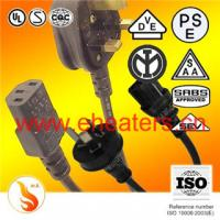 Buy cheap power cord plug for Europ and english product