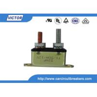 Buy cheap 50A 24V / 12V Circuit Breaker / Stud Type Circuit Breakers For Battery Chargers product