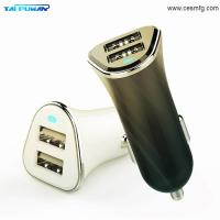 Buy cheap 3.4A LED Mobile Car Battery Charger Adapter,2018 Universal Mobile Cell Phone Fast Pprtabe Electric Dual Usb Car Charger product