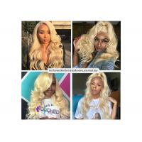 """Buy cheap Honey Blonde Body Wave 613 Bundles With Closure 100% Human Hair 10"""" - 30"""" product"""