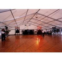 Polygon Aluminum Frame Outdoor Event Tent , Outside Party Tents With Glass Door