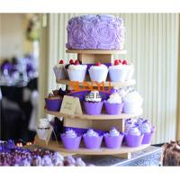 Buy cheap MDF Display Stands Cupcake Tower product