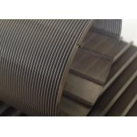 0.1mm Slot Rotary Wire Mesh Cylinder 76mm Diameter For Wastewater Treatment