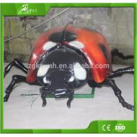 Buy cheap KAWAH ourdoor playground Animatronic Ladybug simulation insect model product