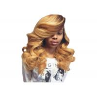Buy cheap Bleach Body Wave Hair Extensions / 22 Inch Body Wave Weave Soft True To Length product