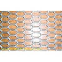Buy quality Diamond Mild Steel Expanded Metal Mesh For Ceiling / Wall Decoration at wholesale prices