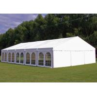 Buy cheap PVC Tarpaulin Garden Party Tent , Outside Tent Weddings 5 M Bay Distance product