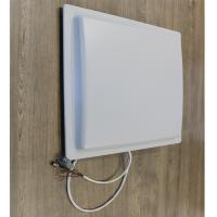 Buy cheap 12m  uhf rfid reader long range rfid reader for Parking color White Access control system product