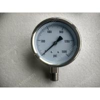 "Buy cheap 4"" All Stainless Steel Pressure Gauge with Explosion proof Hole , 0 - 1500 psi Pressure Gauge product"