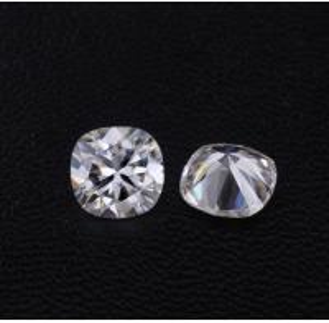 China Diamonds Moissanite Super White DEF Cushion Shape 8mm VVS Clarity Fancy Cut on sale