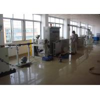 Buy cheap Dia 40mm-100mm Cable Extruder Machine With Mainframe / Main Control Cabinet product