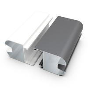 Buy cheap 6063 Aluminum Extrusion Customized Silver Anodized Aluminium Door Frame Profiles For Senegal Market product