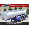 Buy cheap 3 Axles 42 CBM Fuel Tanker Semi Trailer FUWA axles diesel tanker trailer for from wholesalers