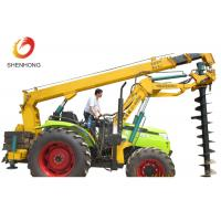 Buy cheap 100HP 8 Ton Tractor Crane Tower Erection Tools With Earth Auger product